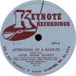 Lester Young Quartet – Afternoon Of A Basie-ite