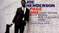 Joe Henderson – Page One (Full Album)