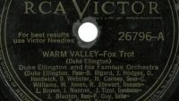 Duke Ellington – Warm Valley