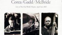 Chick Corea, Steve Gadd, Christian McBride – Super Trio – Live at The One World Theatre, April 3rd, 2005