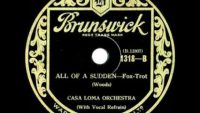 Casa Loma Orchestra – All Of A Sudden