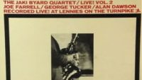 The Jaki Byard Quartet – Live ! Vol 2