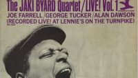 The Jaki Byard Quartet – Live! Vol 1