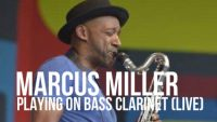 Marcus Miller Playing on Bass Clarinet (Live)