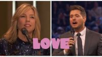 Diana Krall and Michael Bublé – Love (Live)